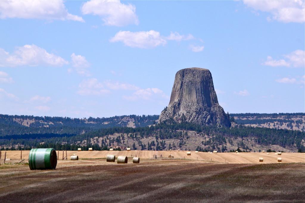 Paysage du Wyoming