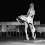 Marylin Monroe géante à Palm Springs