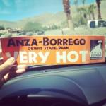 Jusqu'à 42 degrés à Anza-Borrego