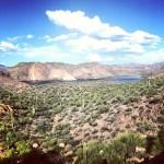 L'Apache Trail, entre Phoenix et le Roosevelt Dam