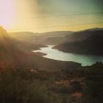 Coucher de soleil sur l'Apache Trail