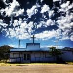 Une église au milieu de nulle part