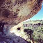 Les habitations de Gila Cliff Dwellings