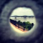 Vue sur le Mississippi