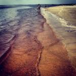 L'océan en rouge à Jekyll Island