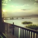 Coucher de soleil à Jekyll Island