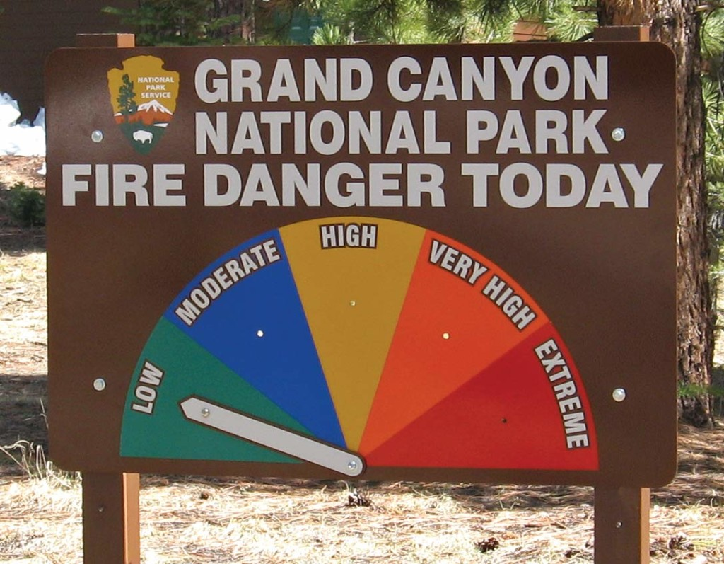 Standard-one-sided-fire-danger-sign