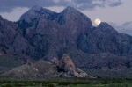 Organ-Mountains-Dripping-Springs-region-at-dusk-with-full-moon-la-cueva-at-bottom-Patrick-Alexander