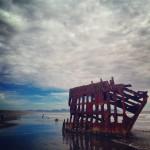 Shipwreck, fort Stevens State Park