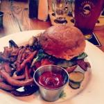 Elk burger. Tasty tasty...