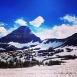 Near Logan Pass. Le point le plus haut de la Going to the Sun Road