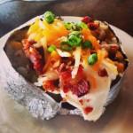 Une patate de l'Idaho