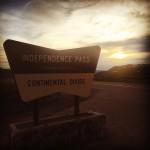 Independence Pass, à 3687m