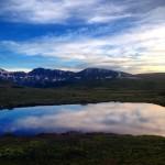 Miroir à Independence Pass