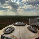 UFO watchtower in Hooper, Colorado