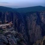 Au Black Canyon de Gunnison