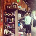 La Free Box, une institution à Telluride. On amène les choses dont on n'a plus besoin, on prend ce qu'on veut