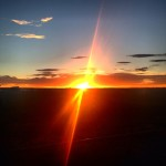 Coucher de soleil du Colorado