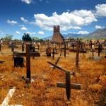 Taos pueblo, le cimetière