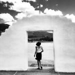 Taos pueblo, sortie de l'église