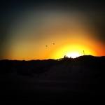 Coucher de soleil texan à Port Aransas