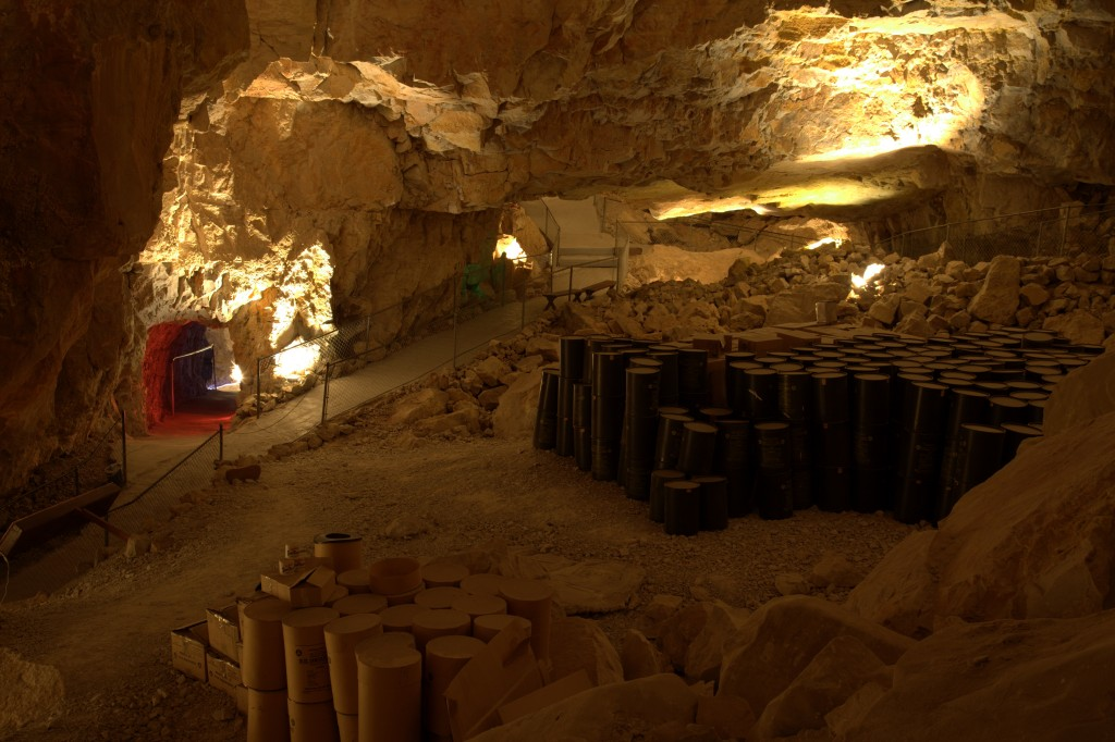 Grand Canyon Caverns was designated a fallout shelter in 1961