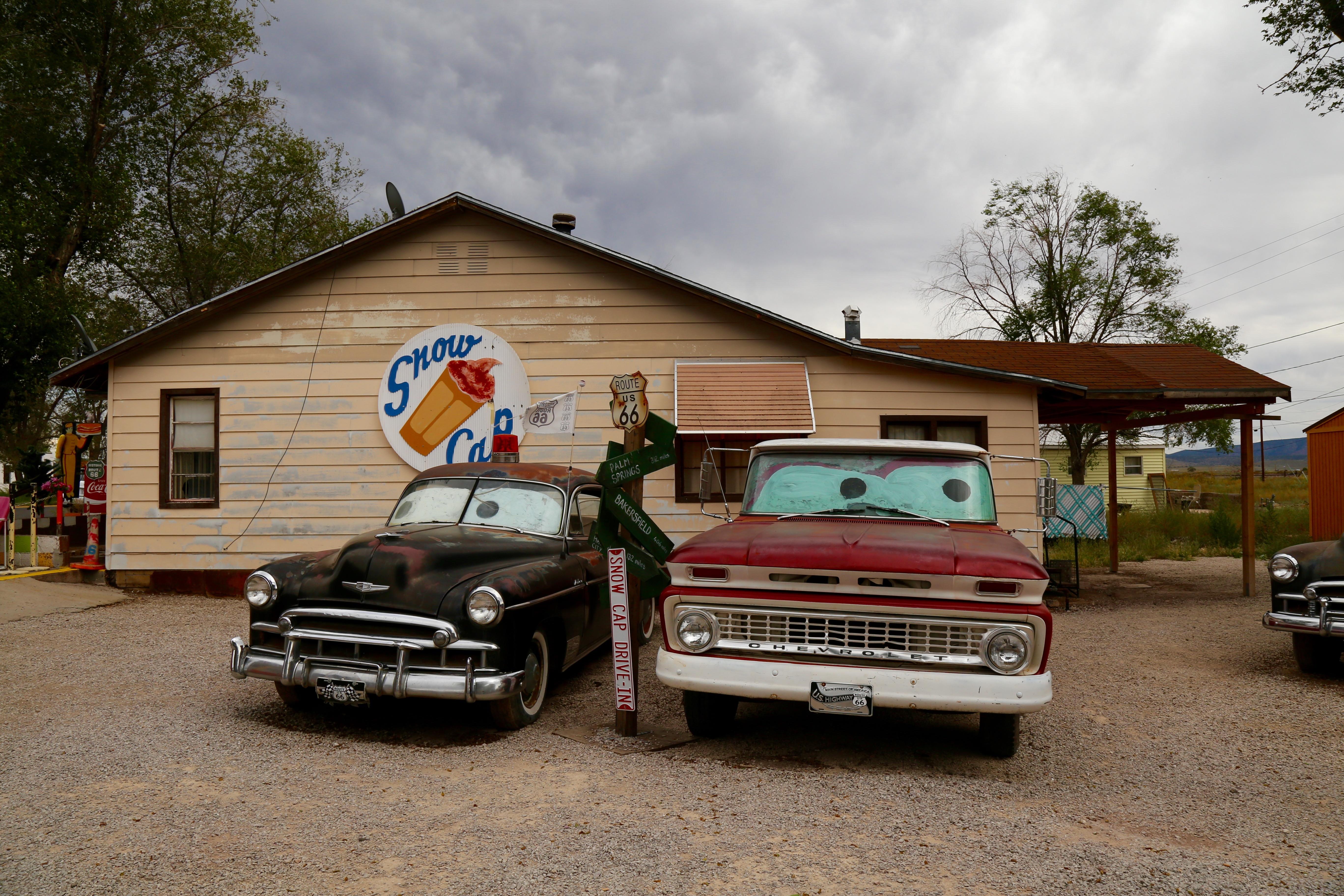 Cars Une Ode Animee A La Route 66 Road Trip Aux Usa
