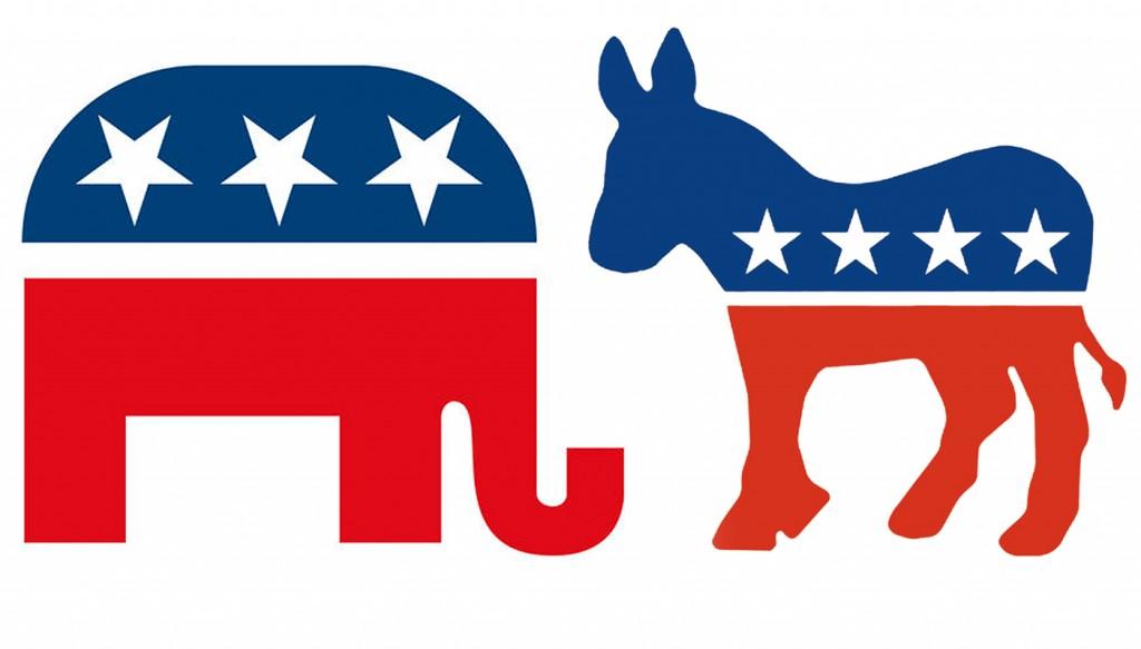 (Photos: Courtesy GOP.org, Democrats.org)