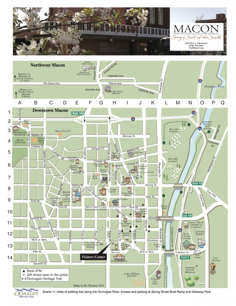 Downtown Macon Map - copie
