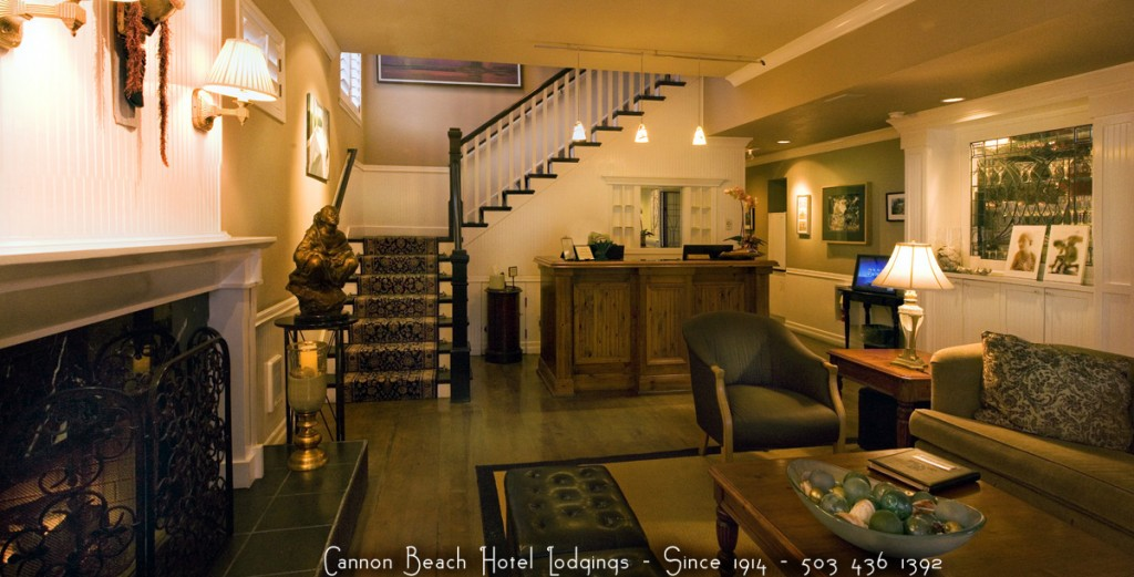 Cannon Beach Hotel Lodgings Lobby 2013 copy 2 copy